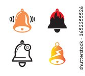bell icon illustration logo...