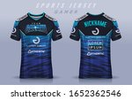 t shirt e sport design template ...   Shutterstock .eps vector #1652362546