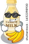 super cool cashew milk... | Shutterstock .eps vector #1652398930