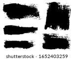 vector brush stroke. grunge...   Shutterstock .eps vector #1652403259