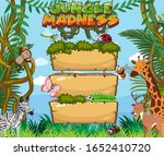 wooden board template with many ...   Shutterstock .eps vector #1652410720