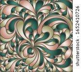 silk texture fluid shapes ... | Shutterstock .eps vector #1652410726