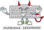 A Cruel Devil White Keyboard...