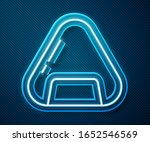 glowing neon line sushi icon... | Shutterstock .eps vector #1652546569