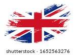 great britain flag grunge brush ... | Shutterstock .eps vector #1652563276