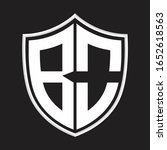 bo logo monogram with shield...