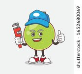 cantaloupe melon cartoon mascot ... | Shutterstock .eps vector #1652680069