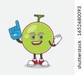 cantaloupe melon cartoon mascot ... | Shutterstock .eps vector #1652680093