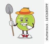 cantaloupe melon cartoon mascot ... | Shutterstock .eps vector #1652680099