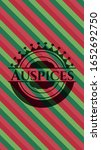 auspices christmas colors style ... | Shutterstock .eps vector #1652692750