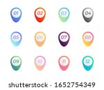 pin map icon direction colorful ... | Shutterstock .eps vector #1652754349