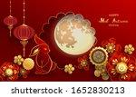 happy mid autumn festival  ... | Shutterstock .eps vector #1652830213