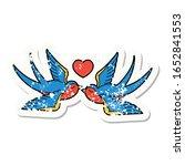 distressed sticker tattoo in... | Shutterstock . vector #1652841553