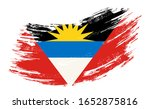 antigua and barbuda flag grunge ... | Shutterstock .eps vector #1652875816