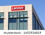 Small photo of Santa Clara, CA, USA - Feb 7, 2020: Lenovo Santa Clara office exterior. Lenovo Group Limited, often shortened to Lenovo, is a Chinese multinational technology company.