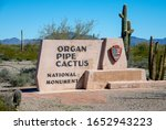 Entrance Monument To Organ Pipe ...