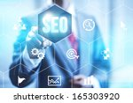 search optimization business... | Shutterstock . vector #165303920