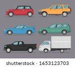 transport design on grey... | Shutterstock .eps vector #1653123703