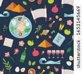 pesah celebration concept  ...   Shutterstock .eps vector #1653145669