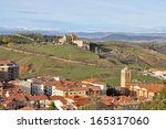 Panoramic View Of Soria  Spain