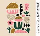 modern abstract random cutout... | Shutterstock .eps vector #1653192109