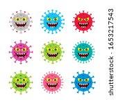 covid 19 corona virus graphic...   Shutterstock .eps vector #1653217543