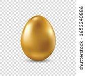 vector golden realistic easter... | Shutterstock .eps vector #1653240886
