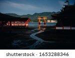 The Itsukushima Shrine On...