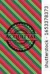acquittal christmas badge... | Shutterstock .eps vector #1653378373