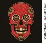 coloured illustration of... | Shutterstock .eps vector #1653396160