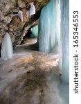 frozen minnehaha falls    Shutterstock . vector #165346553