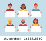 collection of young people... | Shutterstock .eps vector #1653518560