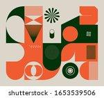 retro future inspired artwork... | Shutterstock .eps vector #1653539506