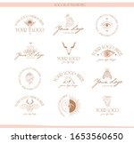 collection of logos and icons... | Shutterstock .eps vector #1653560650