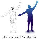 vector illustration of a... | Shutterstock .eps vector #1653589486