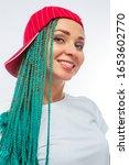 beautiful european girl with...   Shutterstock . vector #1653602770
