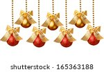 Gold Beads Garland With Balls...