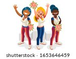 crowd of persons celebrate... | Shutterstock .eps vector #1653646459