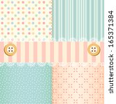 Shabby Chic Pastel Patterns An...