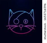 pirates cat nolan icon. simple...