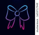 bow sketch nolan icon. simple...