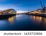 Dockland in Hamburg Altona am Hafen