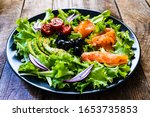 Salmon Salad   Smoked Salmon...