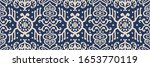 ikat geometric folklore... | Shutterstock .eps vector #1653770119
