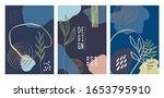 modern artistic cards design... | Shutterstock .eps vector #1653795910