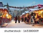 Christmas Market In Riga  Latvia