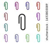 paperclip multi color style...