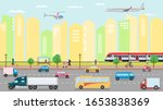 city transportation concept... | Shutterstock .eps vector #1653838369