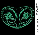 isolated vector illustration.... | Shutterstock .eps vector #1653848776