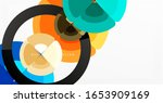 abstract background  trendy... | Shutterstock .eps vector #1653909169